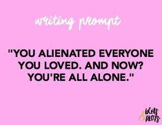Writing Prompts | Blots & Plots