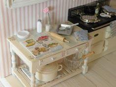 mini cottage kitchen: Cynthia from Cynthia's Cottage Design