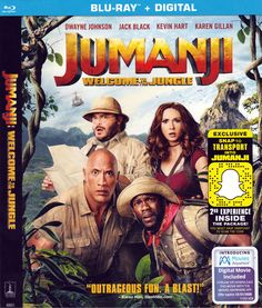 Coming to Bluray next Tuesday from director Jake Kasdan and Sony Pictures Home Entertainment is an adventure inside a video game with JUMANJI: Welcome to the Jungle.