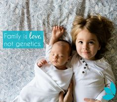 Amen! Families are created in so many ways and they are all equally as incredible, loving, and fulfilling <3