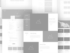 Culinary Website Wireframes by Nick for Leavingstone