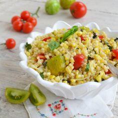 Corn Basil Salad {GF