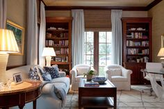 Interior Design by Gauthier Stacy, Drapery by Finelines
