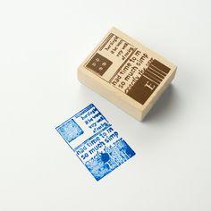 Chamil Garden Wood Rubber Stamp - Book C15 by niconecozakkaya on Etsy