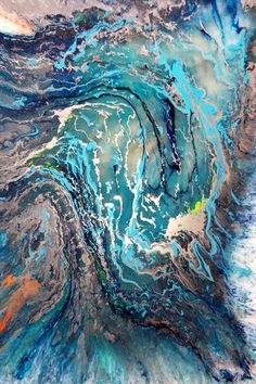 """Mike Pietro Abstract Art: """"There is no blue without without yellow and witho..."""