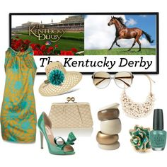 Kentucky Derby, created by ornellav on Polyvore