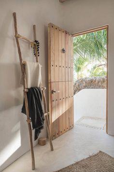 A heavenly tropical retreat on Holbox island, Mexico Interior Design Living Room Warm, Casa Top, Loft Style, Deco Design, Interior And Exterior, Living Spaces, Interior Decorating, New Homes, House Design