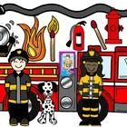 Perfect for Fire Prevention Month in October, this set features a huge fire truck and student fire fighters!  You'll be able to jazz up your produc...