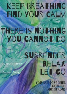 Surrender Healing Infused Pregnancy and Labor Art by AscendedBirth, $6.00 #homebirth #blessingway #pregnancy
