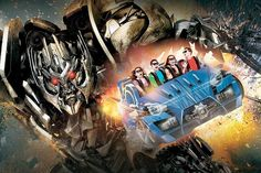 Ad for new Transformers ride
