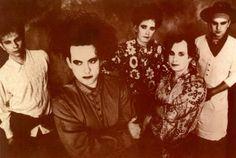 The Cure 1989 ` (L to R) Boris Williams, Robert Smith, Roger O'Donnell, Porl Thompson, Simon Gallup