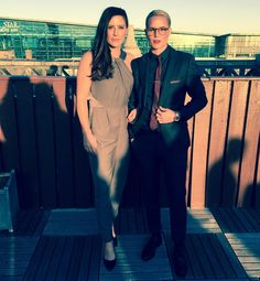 OMG Ashlyn!! She needs to hook me up with her tailor. That suit is amazing. Glasses on point + Ali Krieger #sojealous
