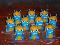 Personagens confeccionados em biscuit #slugterra #slugterrâneo #disneyxd