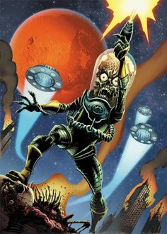 Mars Attacks! martian.