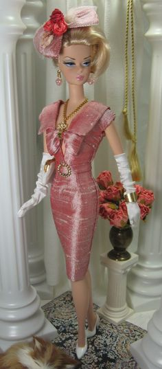Sensational pink Barbie retro outfit