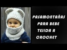 PASA MONTAÑAS PARA BEBE TEJIDO PASO A PASO EN CROCHET - YouTube Ganchillo  Para Hombres 95c74b037a3