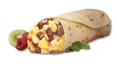 Egg, Sausage, Cheese & Potato Burrito
