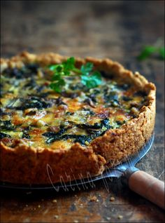 Most beautiful quiche I have ever seen. Nice recipe. Trying this today. Great pic @xhealthyrecipex |