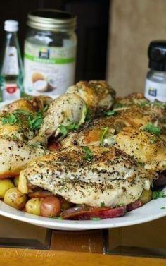 Kitchen Sink Chicken Roast
