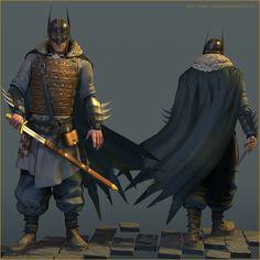 And now, Viking Batman. Definitely weird but definitely cool.