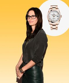 See the timepieces of choice for Leonardo DiCaprio, George Clooney, Emily Blunt and more; Courtney Cox wears Rolex.