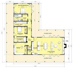 Casa country moderna de 2 dormitorios con galeria-2