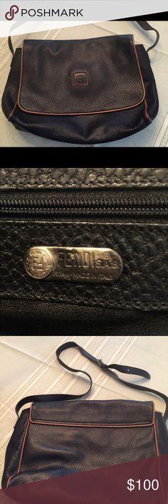 Spotted while shopping on Poshmark: FendI Leather shoulder bag! #poshmark #fashion #shopping #style #Fendi #Handbags