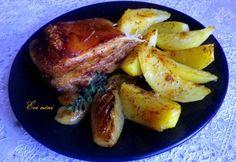 Konfitált császárhús Évi nénitől Evo, Pork, Pork Roulade, Pigs, Pork Chops