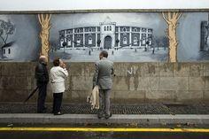 A última obra de Rui Rio é... um muro pintado | P3