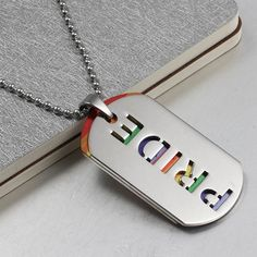 *** Sales from this item are donated towards LGBT rights causes *** Buy 2 and get it gift-wrapped! Item Type: Necklaces Fine or Fashion: Fashion Necklace Type: Pendant Necklaces Length: 60cm Metals Ty