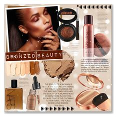 """Bronzed Beauty"" by alexandrazeres ❤ liked on Polyvore featuring beauty, Bourjois, LORAC, NARS Cosmetics, Perricone MD, makeup, cosmetics and bronzedbeauty"