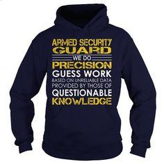 Armed Security Guard - Job Title #teeshirt #fashion. MORE INFO => https://www.sunfrog.com/Jobs/Armed-Security-Guard--Job-Title-Navy-Blue-Hoodie.html?60505