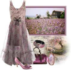 """""""Lavender"""" by daiscat ❤ liked on Polyvore"""