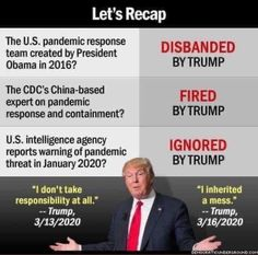 Let's Recap . Trump We, Eric Trump, Obama, Donald Trump, No Response, Presidents, Let It Be, Shit Happens, Humor
