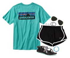 Summer Adventures by sheadgriffin on Polyvore featuring polyvore, fashion, style, Chaco, Everest, Ray-Ban, Pluie, Patagonia, women's clothing, women's fashion, women, female, woman, misses and juniors