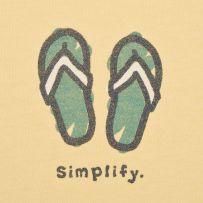 Simplify Flip Flops @ http://www.lifeisgood.com/shop/women/womens-shirts-life-is-good-tees/womens-tops,default,sc.html