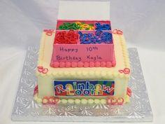 Rainbow Loom Cake