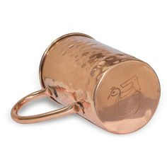 Amazon.com | DakshCraft ® Drinkware Accessories Hammered Copper Moscow Mule Mug, Set of 4: Coffee Cups & Mugs