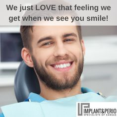 At Implant & Perio Specialists of Kansas, we can help your teeth look and feel as naturally as if you had never lost a tooth! Contact us today to schedule your consultation. Call (316) 683-2525.