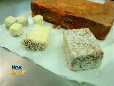 Edu Guedes ensina segredos do bolo gelado de coco #Receitas - YouTube