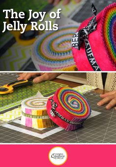For the past decade, Jelly Rolls have taken the quilting world by storm. These rolls of pre-cut, coordinated fabric strips come in a variety of designs and colors and offer time-saving quilting possibilities limited only by your imagination. If you've ever stood in a quilt store and wondered what to do with a Jelly Roll, then this is the video for you.