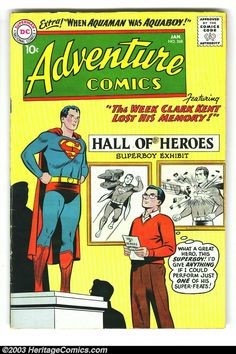 Adventure Comics Group (DC, 1956) - Before our comic book heroes' values were replaced with darker and more cynical ones by new writers