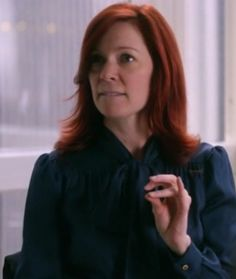 Carrie Preston as the ditzy, but ever so excellent lawyer, Elsbeth Tascioni, in The Good Wife
