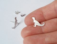 trex dinosaur, dinosaur earring