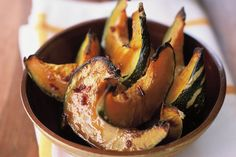 For something a little bit different, try this sweet and sticky Thai twist on the classic roast pumpkin.
