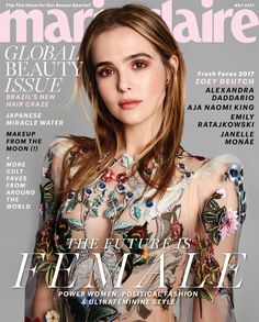 Zoey Deutch on Marie Claire May 2017 Cover