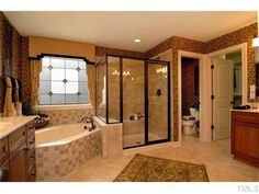 SHOWER DOORS BY COASTAL.  HTTP://CST.AL PARAGON FRAMED ENCLOSURE WITH TUB DECK