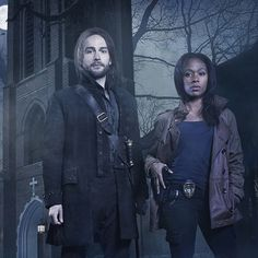 Sleepy Hollow TV Show I ship Abby and Ichabod! Not as much as Katniss and Peeta, but Ibby's a close second!!!