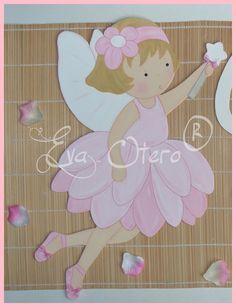 SILUETAS INFANTILES EVA OTERO: SILUETAS DE HADAS