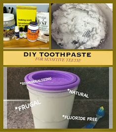 Can You Hear Me Now?: DIY Remineralizing Toothpaste For Sensitive Teeth Dental Care For Kids, Tooth Decay In Children, Toothpaste For Sensitive Teeth, Toothpaste Recipe, Tooth Sensitivity, Dental Bridge, Cosmetic Dentistry, Teeth Whitening, Frugal